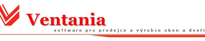 Ventania - software pro výrobce a prodejce oken, dveří a jejich sestav